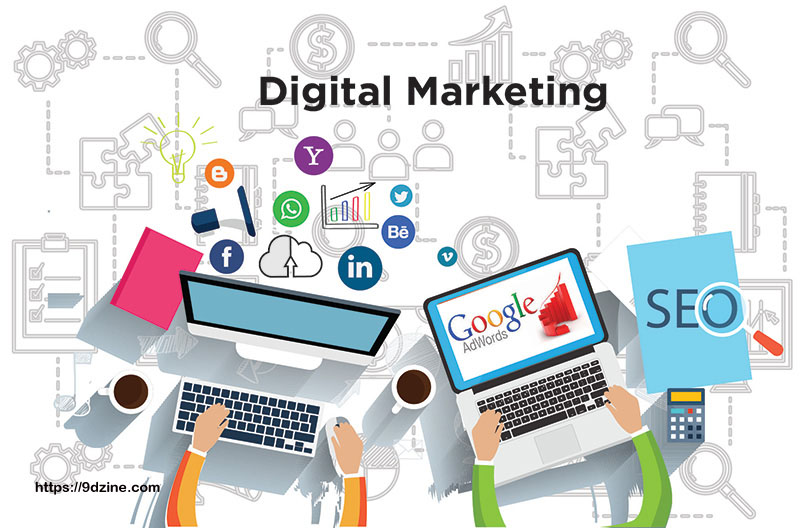 Digital Promoting Agency Services